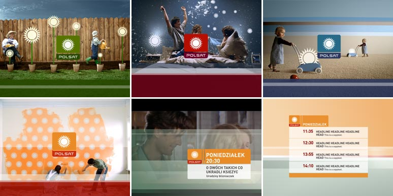 Polsat TV Idents